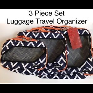 🆕 NWT 3pc Travel Packing Organizing System